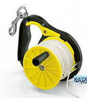 Ходовая катушка для дайвинга Best Divers; пластиковая; 50 м