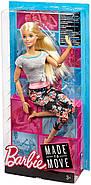 Уценка! Повреждена упаковка.КуклаBarbie Йога Безграничные движения Шарнирная блондинка, фото 4