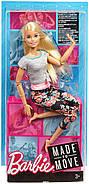 Уценка! Повреждена упаковка.КуклаBarbie Йога Безграничные движения Шарнирная блондинка, фото 5