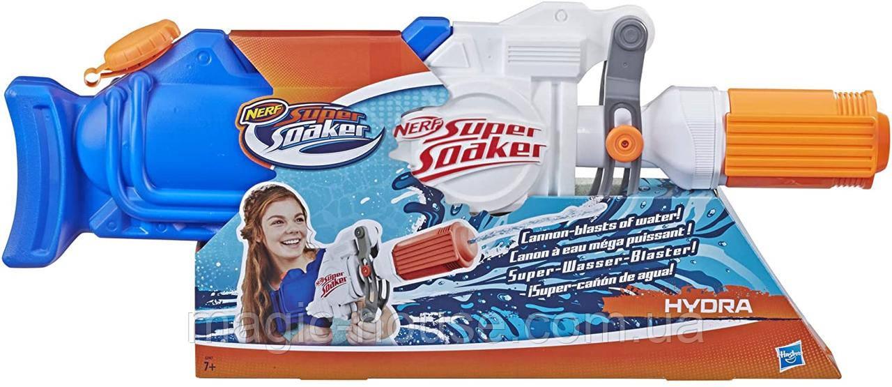 Водный бластер Нерф Гидра Super Soaker Hydra