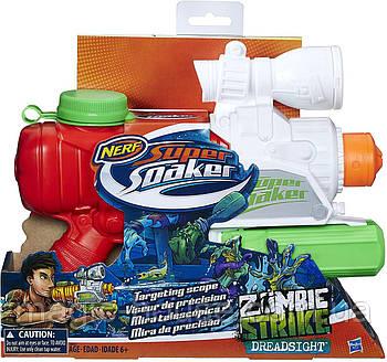 Водний Бластер Нерф Зомбі Страйк Дредсайт Super Soaker Zombie Strike Dreadsight