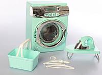Детская стиральная машинка с утюгом и гладильной доской ( A1001-3-4(Turquoise))