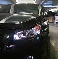 Накладки на фары (Реснички) Chevrolet Cruze, фото 1