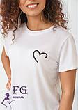 """Женская футболка с рисунком """"Soul"""", фото 3"""