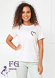 """Женская футболка с рисунком """"Soul"""", фото 4"""