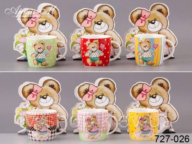 Чашка в подарунковій упаковці Ведмедик