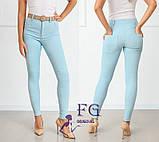 """Стильные женские брюки узкие """"Lavan""""  Норма, фото 3"""