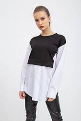 Рубашка женская 112R472W цвет Черно-белый