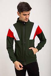 Спорт кофта мужская 119R775 цвет Хаки