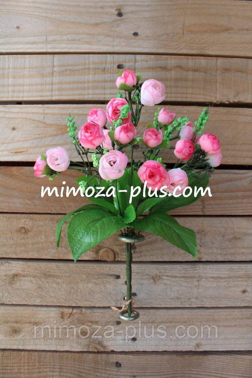 Искусственные цветы - Камелия букет, 34 см
