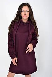Туника женская 112R006-462 цвет Бордо