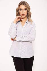 Рубашка женская 287V001 цвет Бело-черный