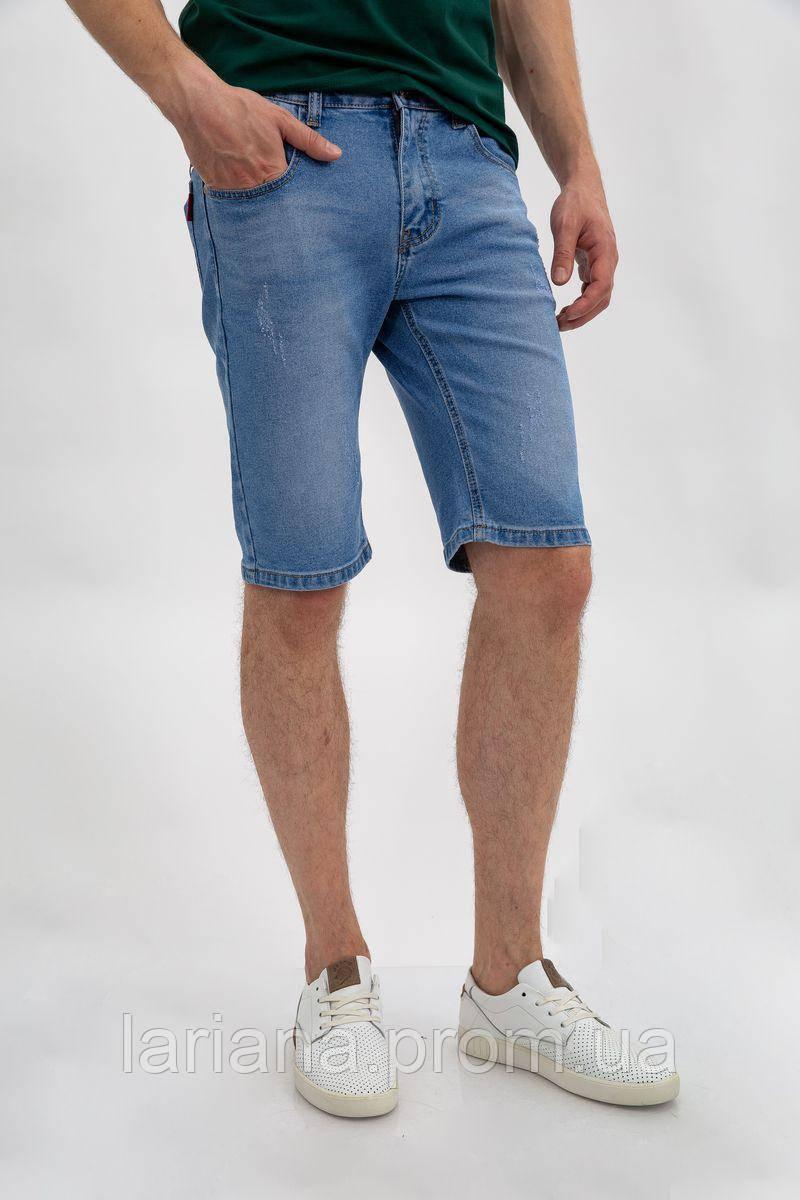 Джинсовые шорты муж 144R906-3Y цвет Голубой