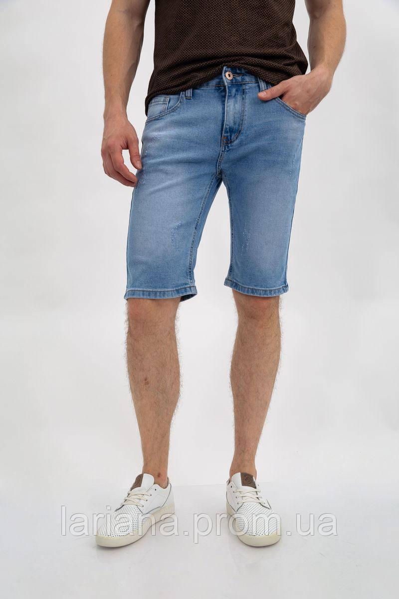 Джинсовые шорты муж 144R906-2Y цвет Голубой