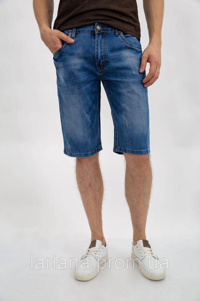 Джинсовые шорты муж 144R635-8Y цвет Синий