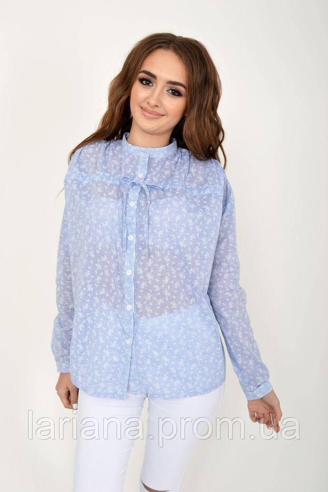 Блуза женская 115R337B цвет Джинс