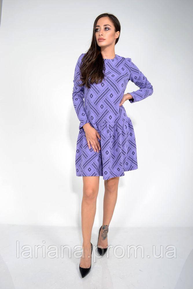 Платье 104R039 цвет Сиреневый