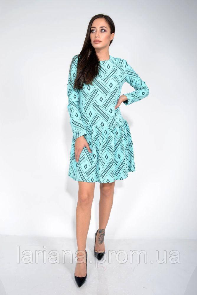 Платье 104R039 цвет Мятный