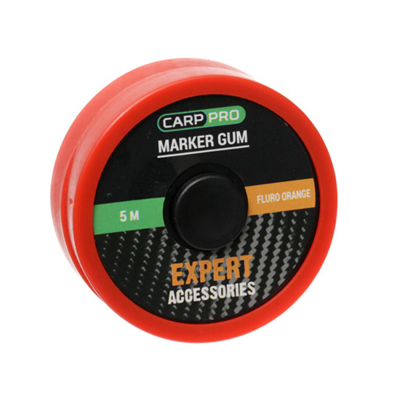 Маркерный эластик Marker Gum 5м Fluro Orange