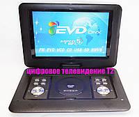 """Портативный ДВД DVD проигрыватель Opera NS-1580 14"""" TV Т2"""