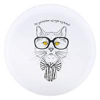 Тарелка с котом HMD Не делайте из еды культа! (347-8718147)