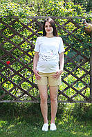 Шорты котоновые для беременных 3030