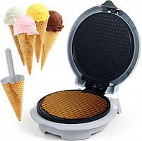 Вафельница для тонких вафель рожков трубочек и конус для мороженого 750 Вт Livstar lsu-1218 белый