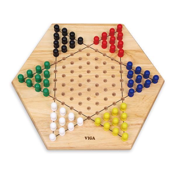 Настольная игра Viga Toys Китайские шашки (56143)