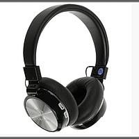 Беспроводные Bluetooth наушники Lenyes LH-806 Чёрный с серым