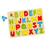 Набор для обучения Viga Toys Алфавит-пазл (58543), фото 2