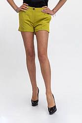Шорты женские 115R147 цвет Горчичный