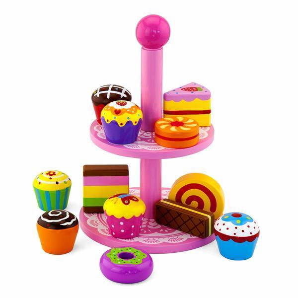 """Игрушка Viga Toys """"Витрина с пирожными"""" (59893VG)"""