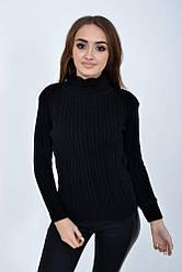 Гольф женский 117R023 цвет Черный