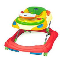 Ходунки детские музыкальные со съемным сиденьем с регулировкой высоты Weina Умный водитель