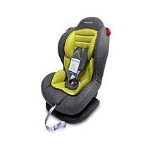 Автокресло детское с положением для сна для детей с 9 месяцев до 6 лет Welldon Smart Sport серо-оливковое