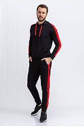 Спорт костюм мужской 102R034 цвет Черный