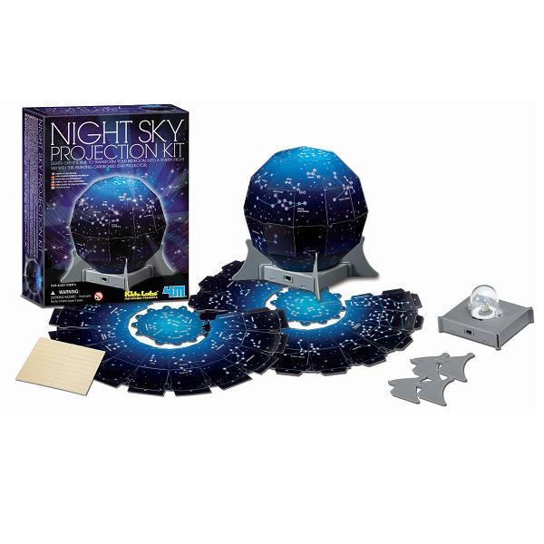 Проектор звездного неба Набор для исследований и изучения астрономии для детей младшего школьного возраста 4M