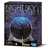 Проектор звездного неба Набор для исследований и изучения астрономии для детей младшего школьного возраста 4M, фото 2