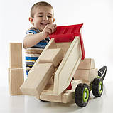 Игрушка Guidecraft Block Science Trucks Большой самосвал (G7531), фото 4
