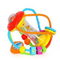 Игрушка развивающий шар детский музыкальный для развития мелкой моторики рук малыша Hola Toys