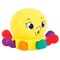 Погремушка Осьминог детская игрушка для самых маленьких Hola Toys