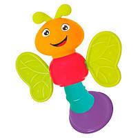 Погремушка Стрекоза игрушка для самых маленьких детей Hola Toys