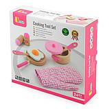 """Набор Viga Toys """"Маленький повар"""", розовый (50116), фото 2"""
