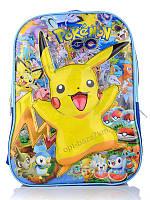 """Рюкзак детский """"Summer shoes"""" 224 Pokemon молния (42x29) - купить оптом на 7км в одессе"""