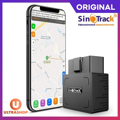 OBD GPS-трекер SinoTrack® ST-902 ORIGINAL + Аккумулятор, Автомобильный, OBD-II OBD-2 OBD2 |  st-901 St901