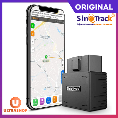 Самий легкий в установці GPS-трекер під OBD-II SinoTrack ST-902 ORIGINAL + Акумулятор під OBD-2 OBD2