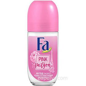Дезодорант шариковый Fa женский Pink Passion (чувственная роза) 50 мл