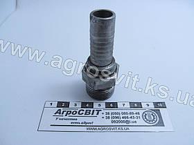"""Штуцер AG ORFS 1""""-14  (под шланг dу=16 мм.)"""