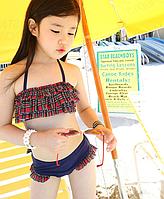 Купальник для дівчинки, комплект купальник та пляжна накидка / дитячий купальник, детский купальник