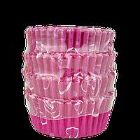 Кондитерські форми з паперу для маффінів і капкейків. 55*45*25 мм (уп 100 шт)